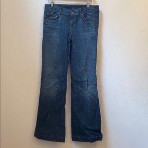 Citizens of humanity blue low waist jeans